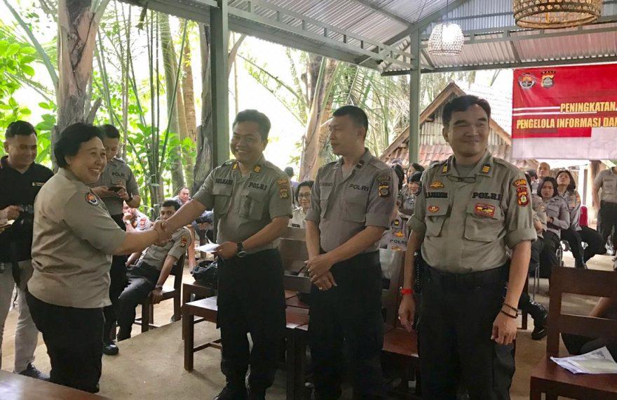 Humas Polres Bangli Raih Juara 1, Saat Pelatihan Journalis Jajaran Polda Bali/fajarbadung.com