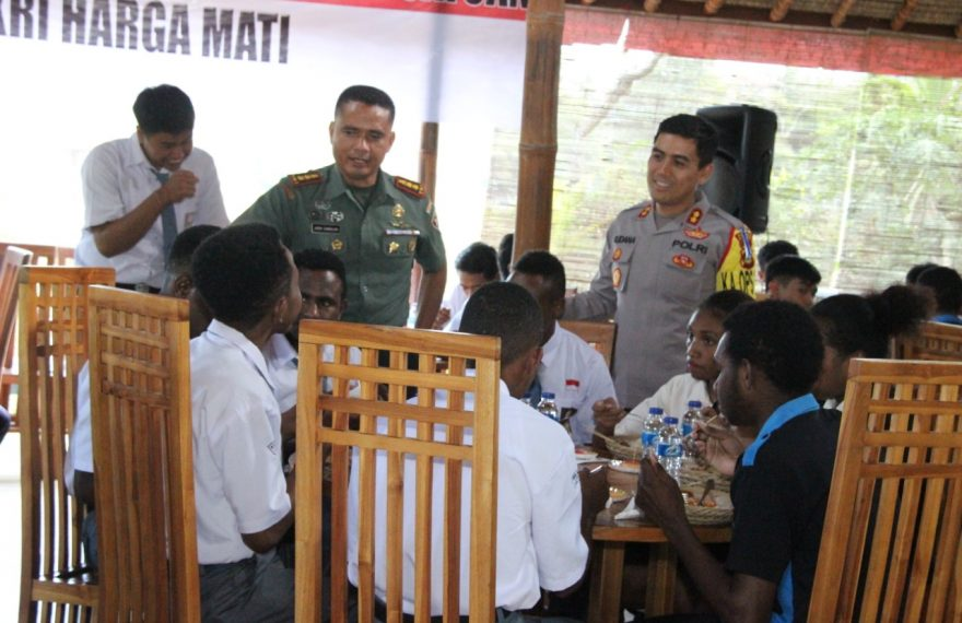 Kapolres Klungkung Tegaskan Akan Jamin Keselamatan Warga Dan Pelajar Papua Di Klungkung/fajarbadung.com