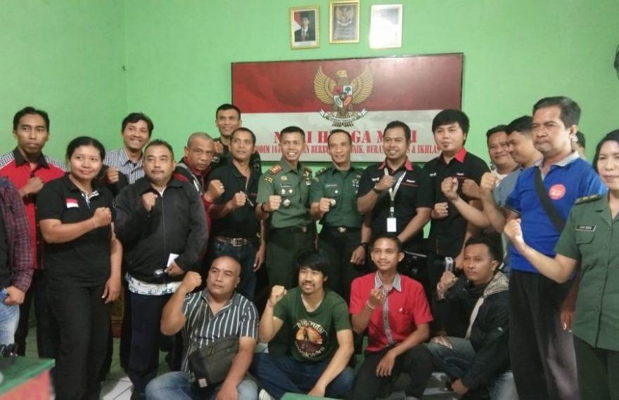 Sukseskan TMMD ke-106, Kodim 1619/Tabanan Gelar Sosialisasi Lomba Karya Jurnalistik Kepada Insan Media/fajarbadung.com