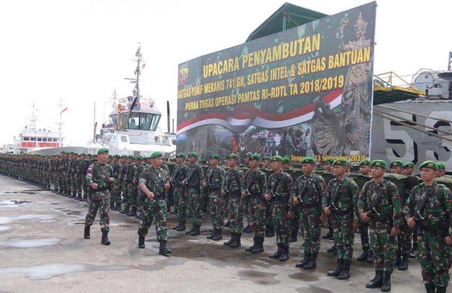 Sukses Jaga Perbatasan RI-RDTL, Pangdam IX/Udayana Berikan Apresiasi/fajarbadung.com