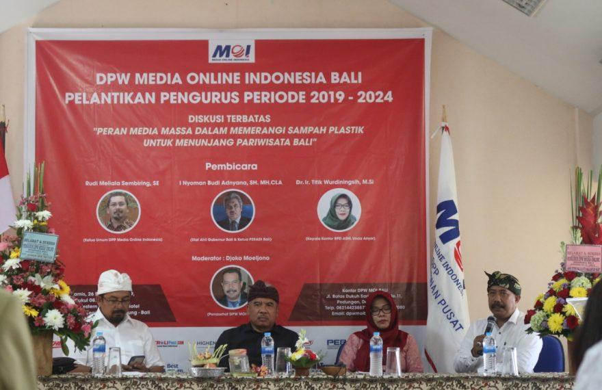 MOI Bali Diminta Berperan dalam Edukasi Masyarakat Soal Larangan Menggunakan Sampah Plastik Sekali Pakai/fajarbadung.com