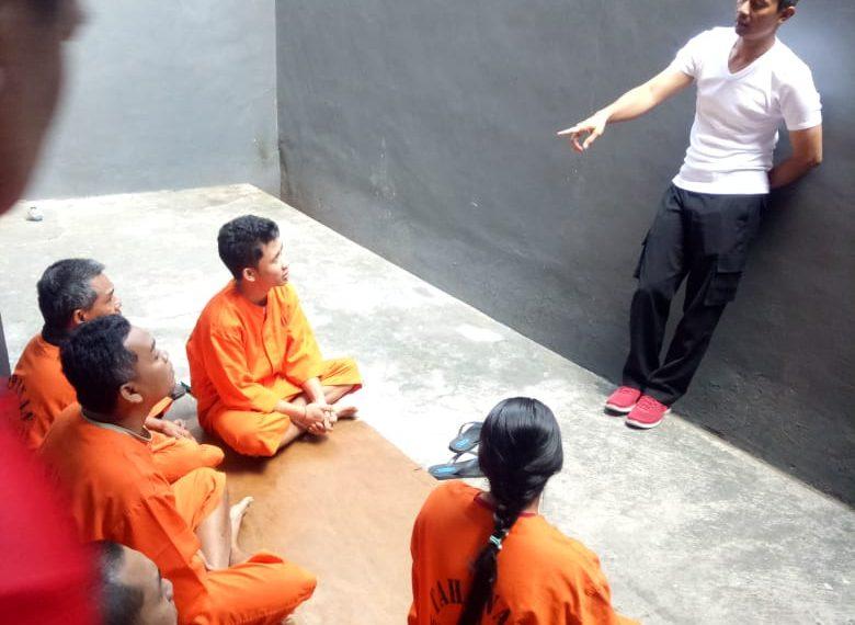 Kapolres Bangli Berikan Motifasi Kepada Para Tahanan/fajarbadung.com
