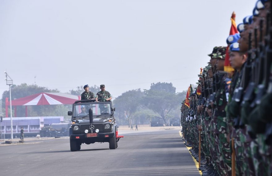 Panglima TNI Pimpin Apel Pengamanan Pelantikan Presiden/fajarbadung.com