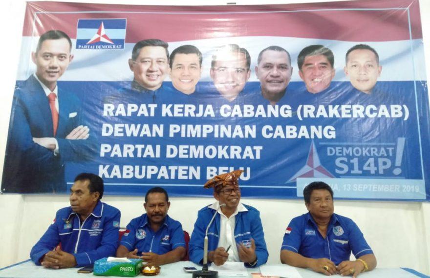 Resmi! Willybrodus Lay Jadi Calon Tunggal Bupati Belu Yang Diusulkan Partai Demokrat/fajarbadung.com