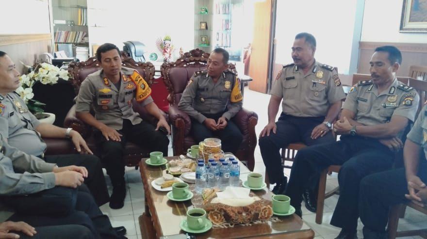 Polres Bangli Sambut Kedatangan Tim Wasops Polda Bali/fajarbadung.com
