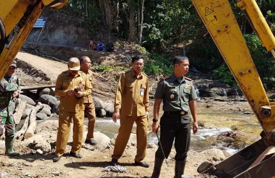 Sekda Tabanan Tinjau Lokasi Pra TMMD Ke 106/fajarbadung.com