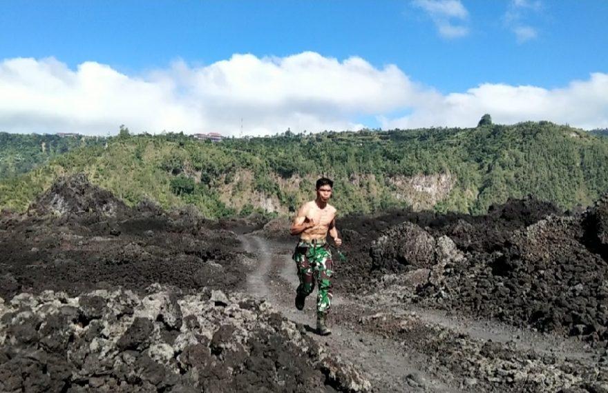 Jelang Run For Bali, Ini Aktivitas Serka Dewa Astawa/fajarbadung.com