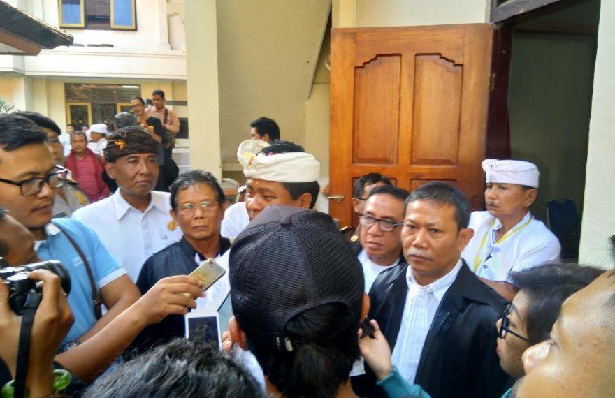 Mantan Wagub Bali Ketut Sudikerta Tulis Surat, Kasus Melilitnya Murni Perdata/fajarbadung.com