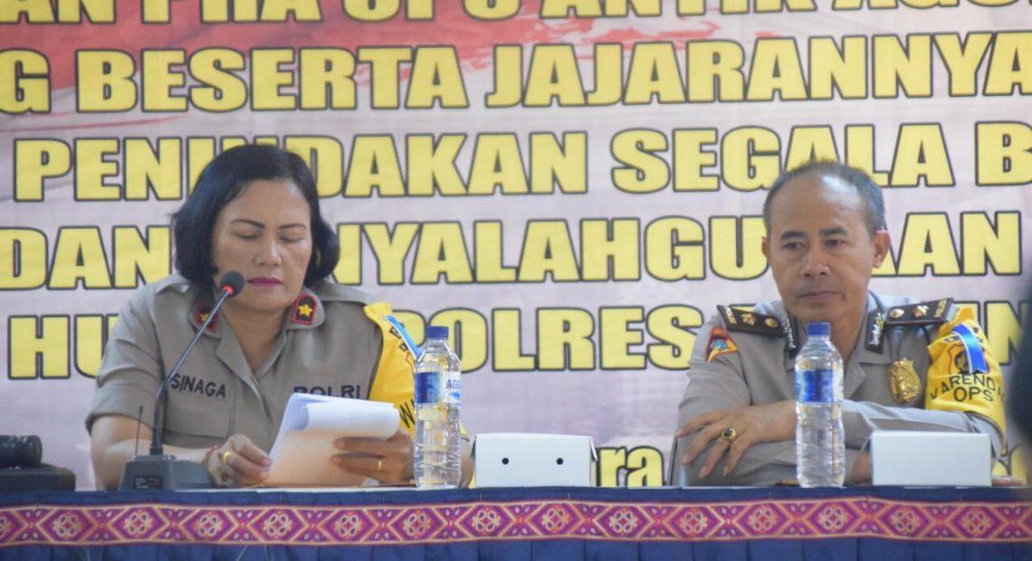 Wakapolres Badung Buka Lat Pra Ops Antik Agung 2019/fajarbadung.com