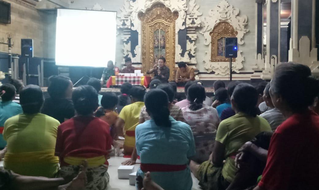 TMMD 106 Kodim Tabanan : Distan Berikan Penyuluhan Budidaya Cabai/fajarbadung.com