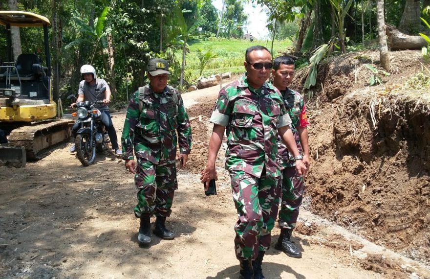 Danrem 163 Wira Satya Tinjau TMMD dan Kesiapan Menjelang Upacara Penutupan/fajarbadung.com