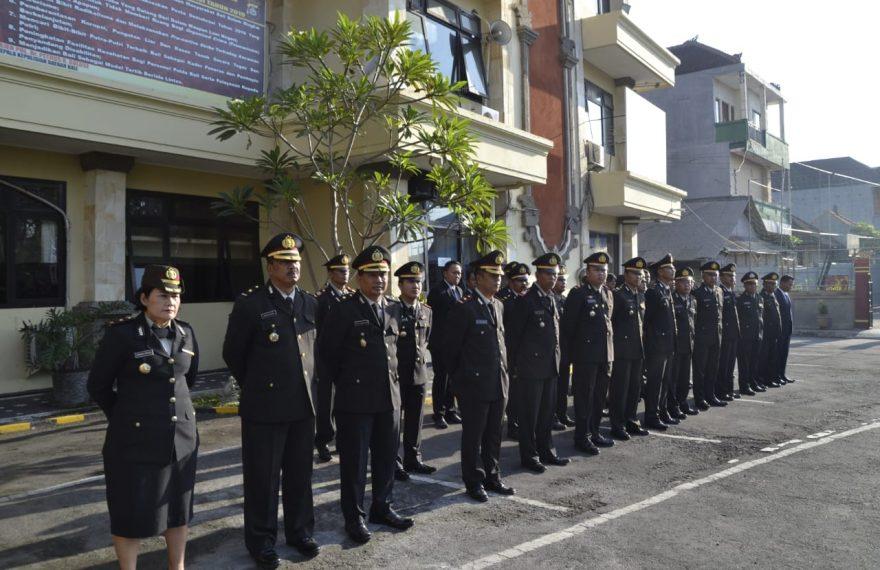 Polres Badung Gelar Upacara Peringatan Hari Sumpah Pemuda ke-91/fajarbadung.com