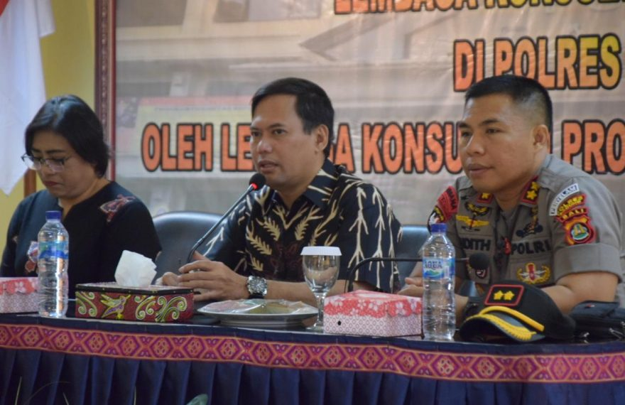 Kapolres Badung Sambut Tim Sosilaisasi LKHM dari STIK-PTIK Mabes Polri/fajarbadung.com