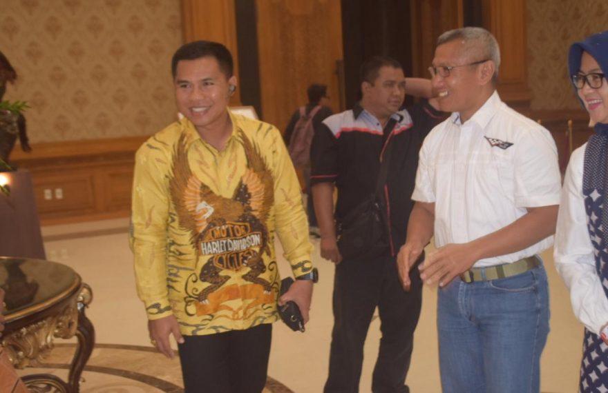 Kapolres Badung Hadiri Pesta Rakyat Dasa Warsa Mangupura/fajarbadung.com