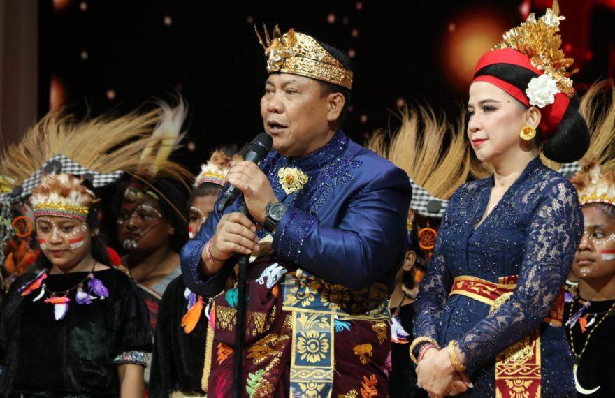 Peringatan Hari Sumpah Pemuda ke-91 tahun 2019, Polda Bali Gelar Malam Budaya Bali, Papua dan Sulut Untuk Indonesia/fajarbadung.com