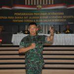 Pangdam Tekankan Keluarga Besar Kodam IX/Udayana Cerdas dan Bijak Bermedsos/fajarbadung.com
