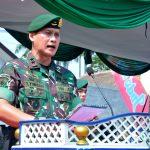 "Pangdivif 2 Kostrad Pimpin Upacara Peringatan Hari Santri Tahun 2019 di Ponpes An - Nur 2 ""Al - Murtadlo"" Bululawang, Malang/fajarbadung.com"