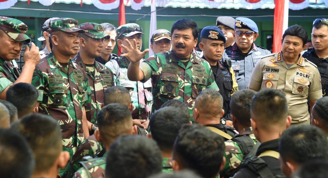 Panglima TNI: Sinergitas TNI-Polri Untuk Menjaga NKRI/fajarbadung.com