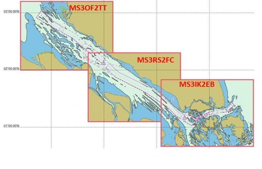 Tiga Negara Terbitkan Peta Laut Elektronik Selat Malaka-Singapura Edisi Terbaru/fajarbadung.com