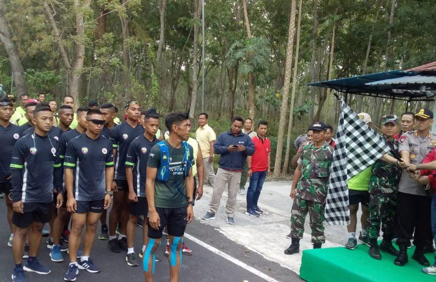 Gelaran Run For Bali, Serka Dewa Astawa Siap Tuntaskan 74 Kilometer Tersisa/fajarabadung.com