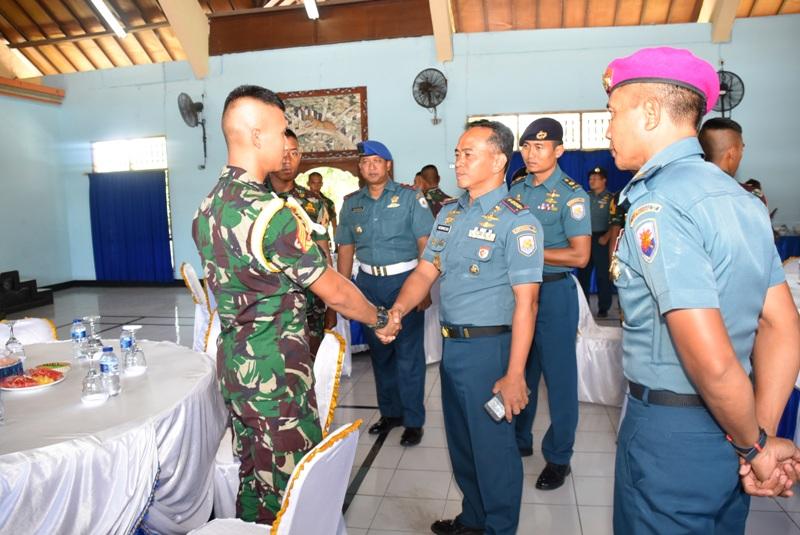 Danlanal Dnnpasar Sambut Kedatangan Taruna AAL Korps Marinir/fajarbadung.com