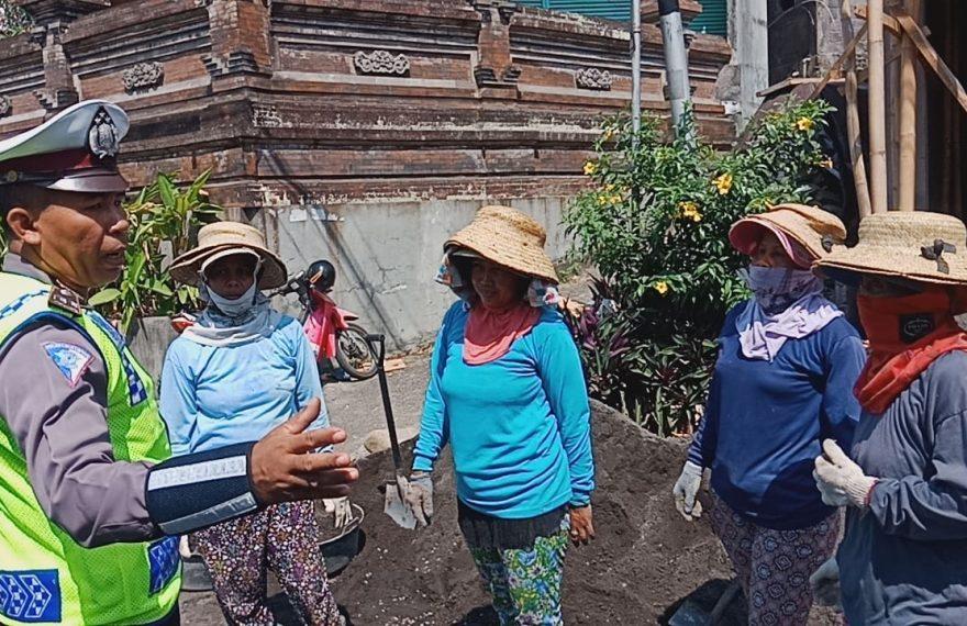 Satlantas Polres Klungkung Turun ke Banjar Sosialisasi Operasi Zebra 2019/fajarbadung.com