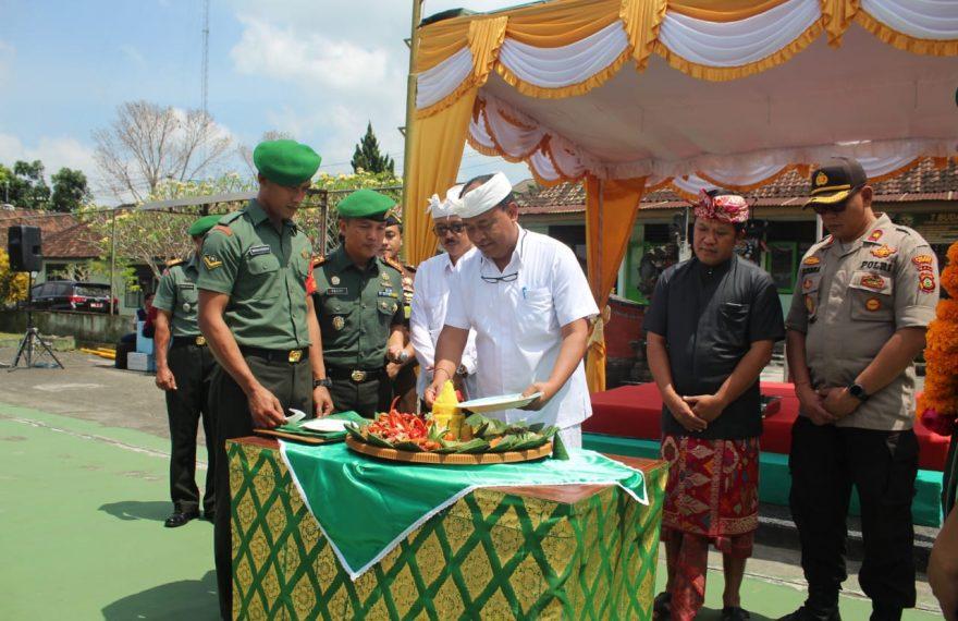 Syukuran Hut TNI Sekaligus Penerimaan Serka Dewa Astawa Usai Tuntaskan Run For Bali/fajarbadung.com
