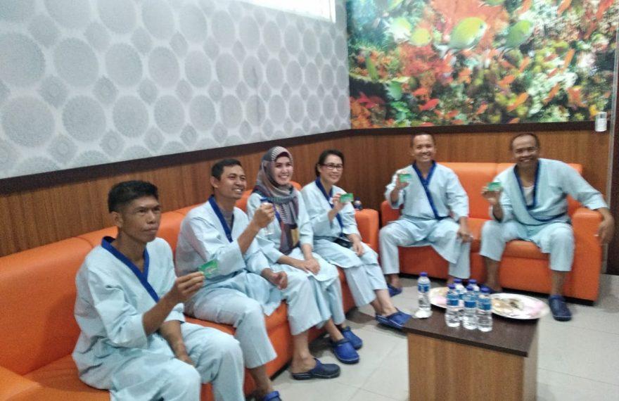 Kompak dan Solid, Forkompinda Bangli Lakukan Terapi Hiperbarik di RS Bhayangkara Polda Bali/fajarabdung.com