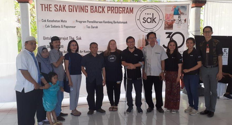 Gandeng BEDO, The Sak Gelar Pelayanan Kesehatan Gratis Bagi Wanita di Desa Air Kuning Jembrana/fajarbadung.com