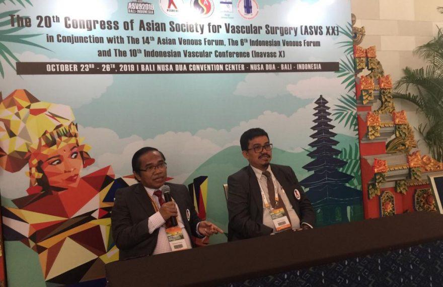Pertemuan Internasional Asian Society of Vascular Surgery Ke-20 Digelar di Bali /fajarbadung.com