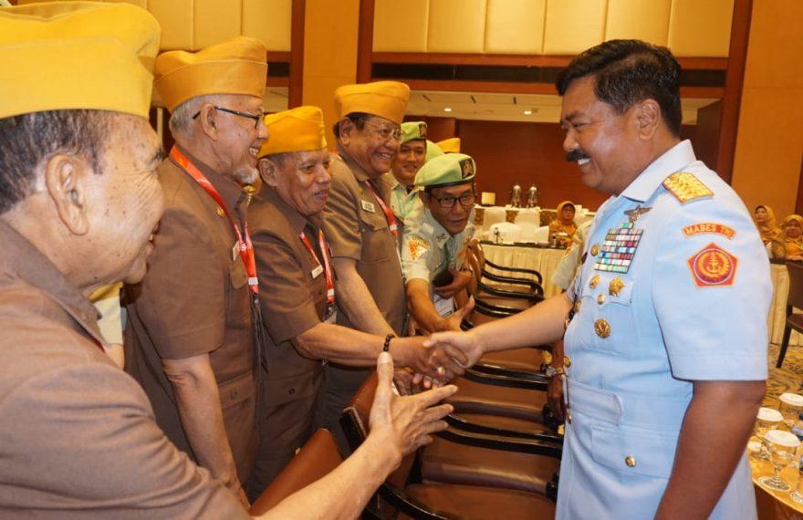 "Panglima TNI : ""Terima Kasih Atas Dharma Bakti Para Veteran""/fajarbadung.com"