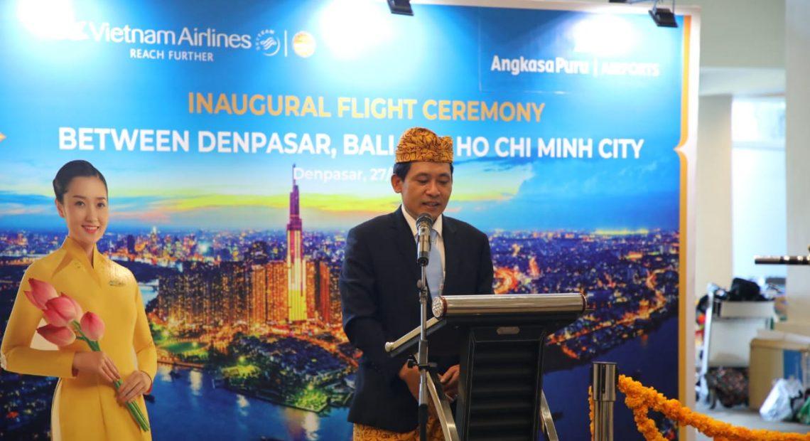 Vietnam Airlines Terbang Perdana ke Ngurah Rai/fajarbadung.com