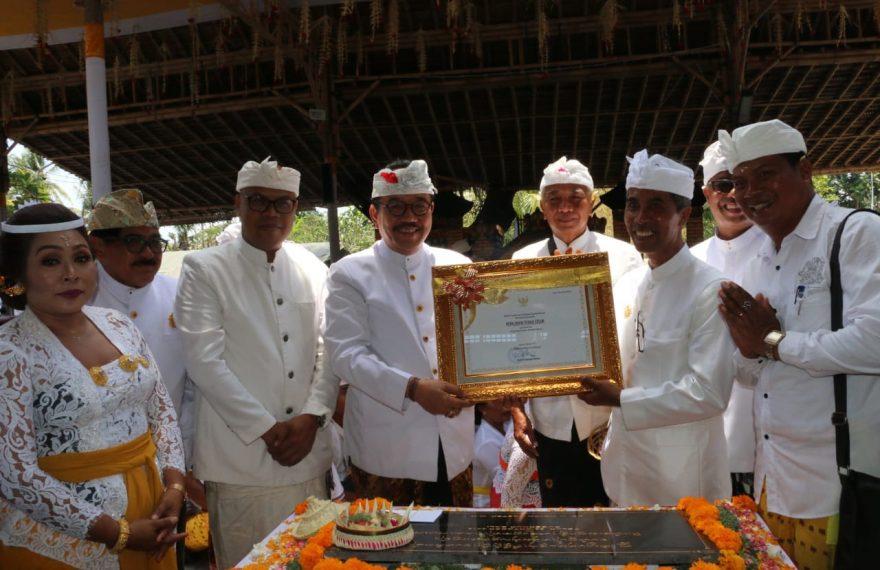 Penetapan Warisan Budaya Tak Benda Kerajinan Perak Diserahkan kepada Desa Celuk/fajarbadung.com