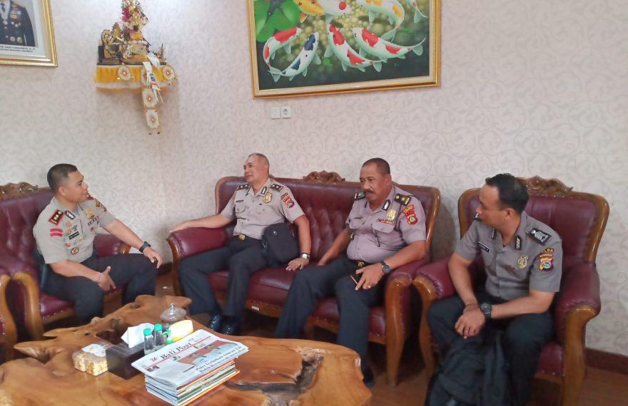 Dua Personil Polda NTB Lakukan Study Banding di Polres Badung/fajarbadung.com