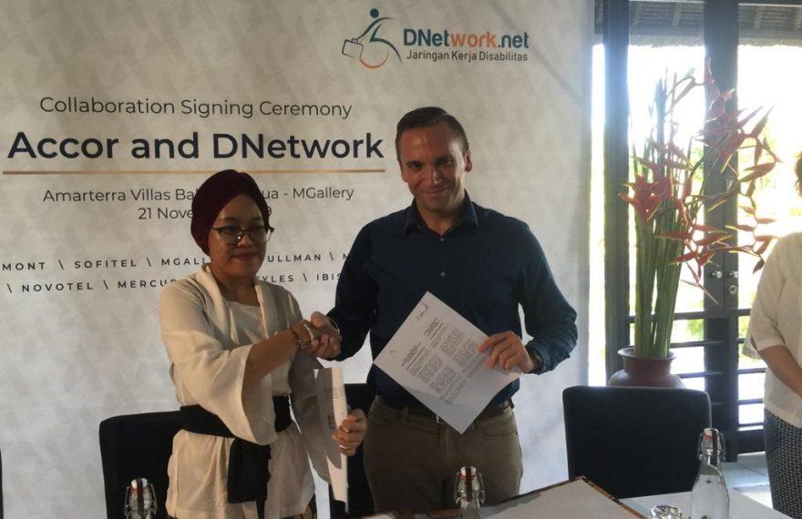 Accor Bekerjasama dengan DNetwork dalam Menciptakan Peluang Kerja Bagi Kaum Disabilitas di Bali/fajarbadung.com