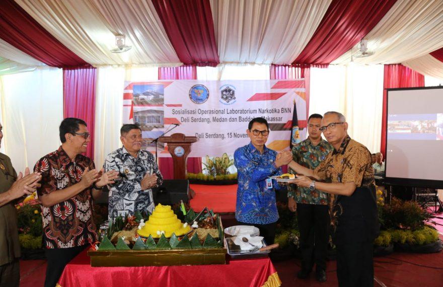 BNN Resmikan Operasional Lab.Narkotika Deli Serdang dan Baddoka/fajarbadung.com
