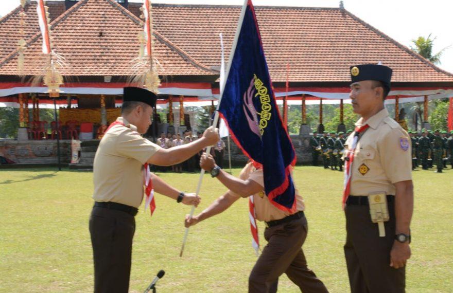 Kodam IX/Udayana Gelar KMD Pramuka Terpusat Tingkat Daerah/fajarbadung.com