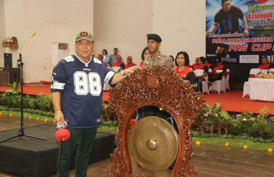 Kapolda Bali Membuka Kejuaraan Tenis Meja PRG Cup I/fajarbadung.com