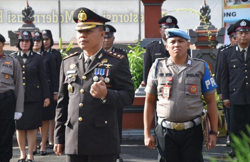 Kapolres Badung Pimpin Upacara Memperingati Hari Pahlawan Ke-74 Th 2019/fajarbadung.com