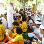 Purnama Kelima Piodalan Pura Ksatri Raksa Bhuwana Korem 163/Wira Satya/fajarbadung.com