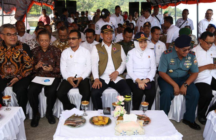 Empat Kementerian/Lembaga Resmikan Sistem Peringatan Dini Tsunami di Pelabuhan Perikanan Eri/fajarbadung.com