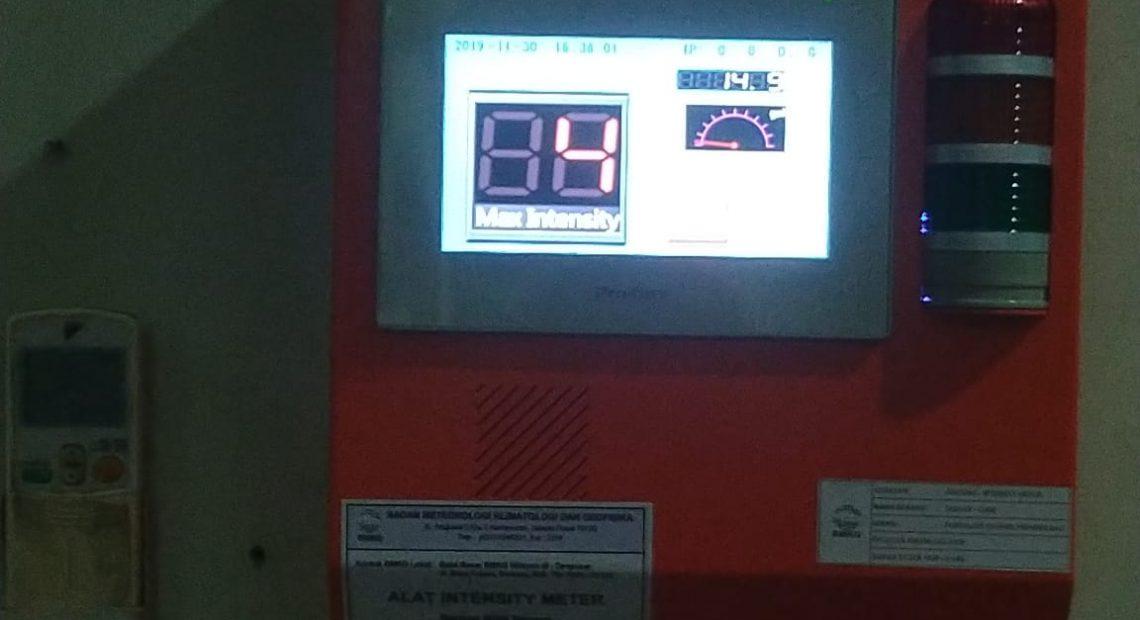 Antisipasi Rawan Gempa Bali, 50 Alat Intensity Meter Dipasang/fajarbadung.com