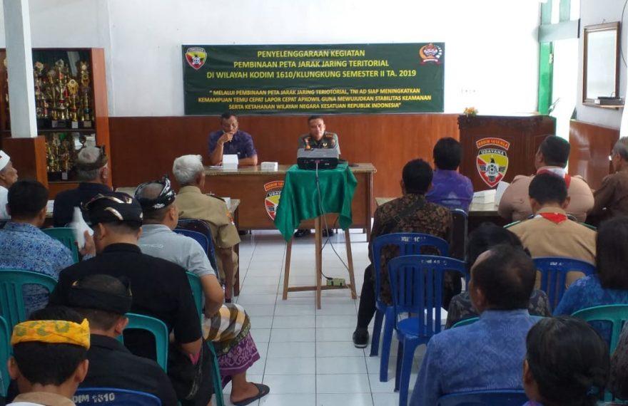 Dandim Klungkung Atensi Beberapa Hal Terkait Keamanan di Wilayah/fajarbadung.com