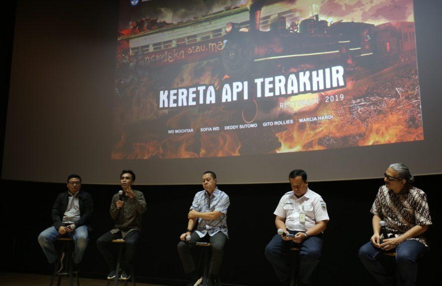 """Kemendikbud Berhasil Merestorasi Film """"Kereta Api Terakhir""""/fajarbadung.com"""