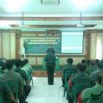 Kodim Badung Gelar Pembinaan Antisipasi Balatkom Dan Paham Radikal/fajarbadung.com