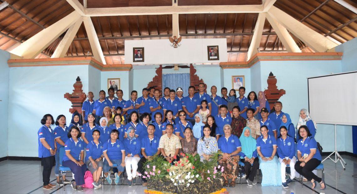 Pererat Persaudaraan dan tali Silaturahmi, Lanal Denpasar Gelar Arisan /fajarbadung.com