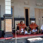 Pelda Arsana Komsos Lewat Tari Topeng/fajarbadung.com