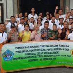 Sinergitas Babinsa Dan Babinkamtibmas Ajak Pemuda Jauhi Narkoba/fajarbadung.com