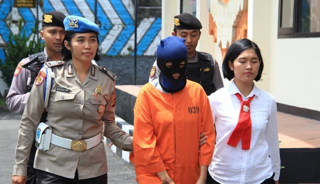 Polres Bangli Tangkap Wanita Residivis Narkoba Asal Cirebon/fajarbadung.com