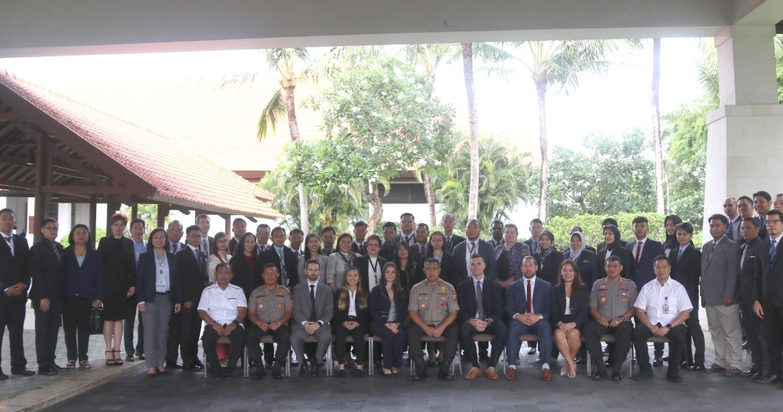 Polda Bali Tuan Rumah Pelatihan Regional Counterterorism Course/fajarbadung.com